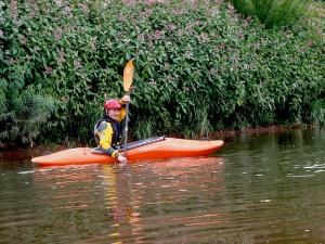 My first week kayaking