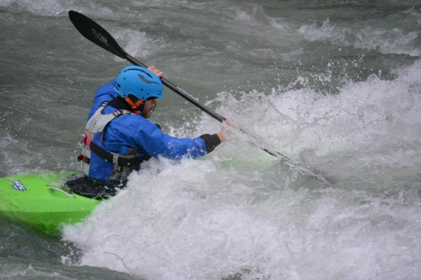 River Oetz in Austria