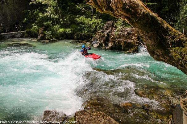 Kayaking on the Söca river