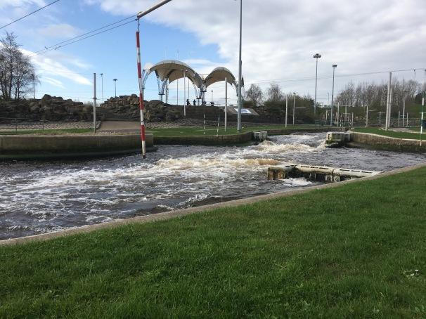 Tees Barrage International Whitewater