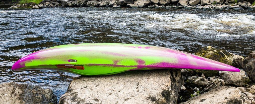 Exo Party Rexy Kayak seat hull shape